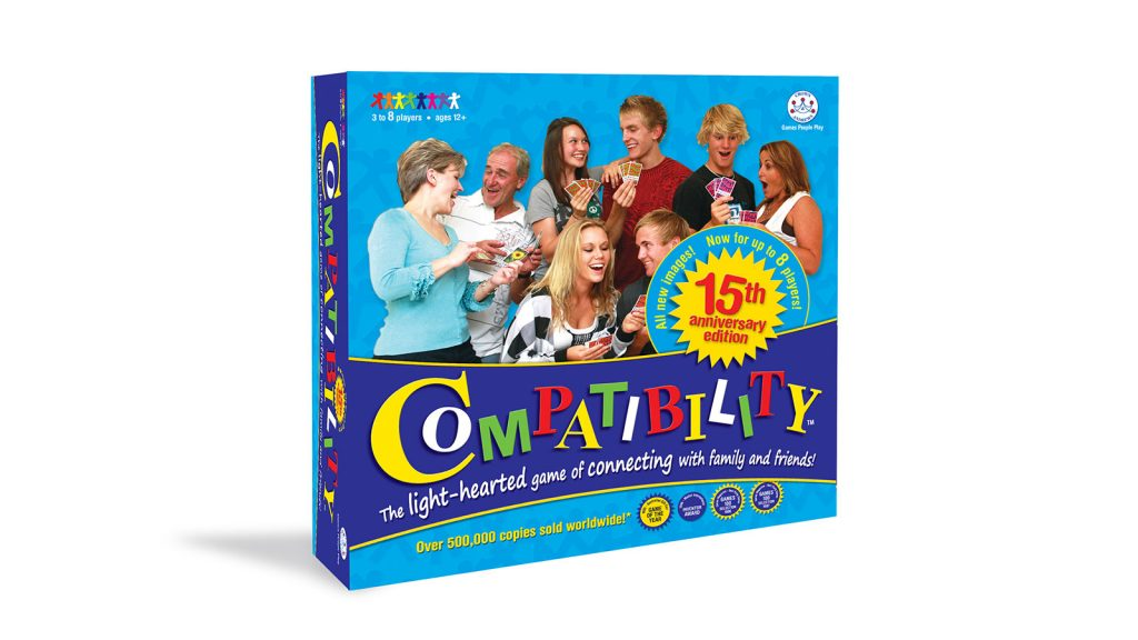 Compatibility board game - created by Wildstone PKG