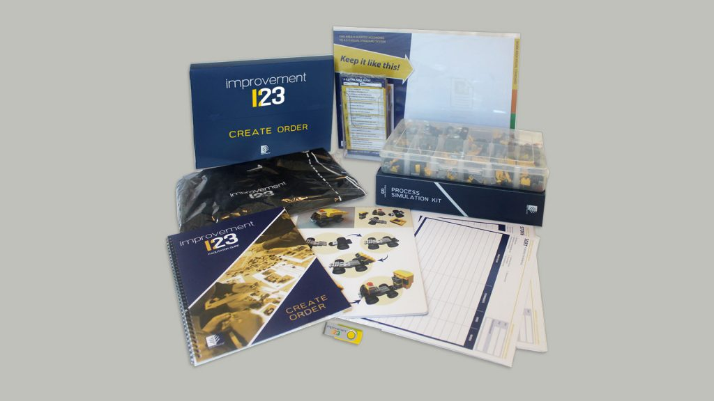 Gestaltix Improvement 123 kit developed by Wildstone PKG