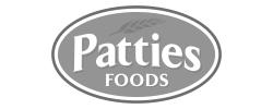 Patties Foods logo
