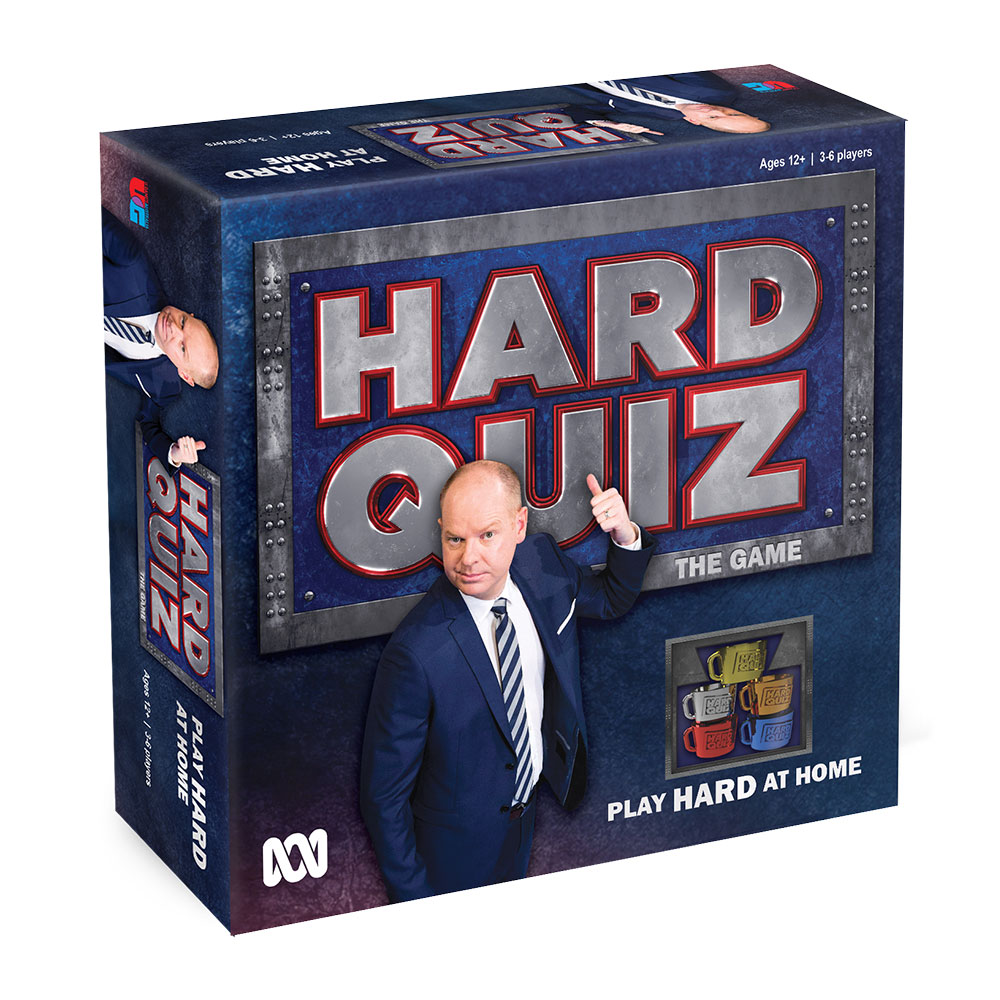 Hard Quiz game box